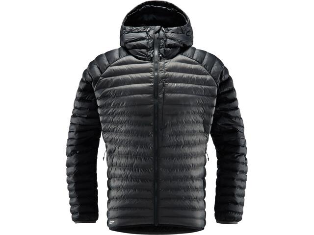 Haglöfs Essens Mimic Hooded Jacket Herre True Black/Magnetite